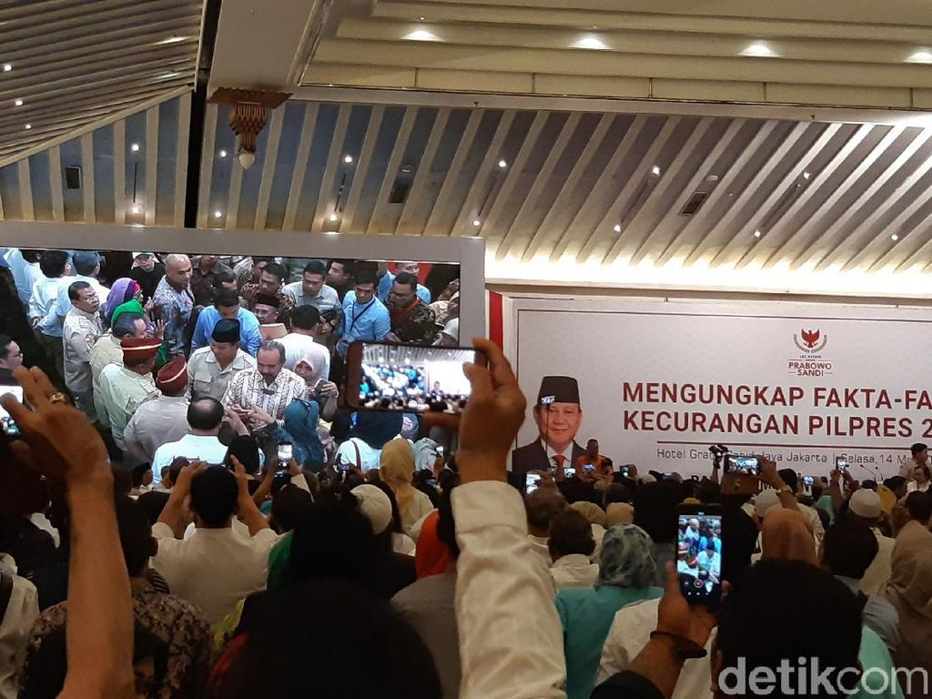 Prabowo-Sandiaga Gelar Simposium Ungkap Klaim Kecurangan Pemilu