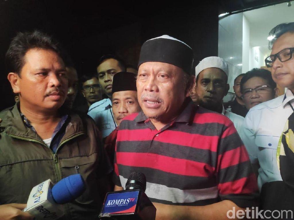 Eggi Sudjana Protes Ditahan Polisi: Saya Advokat