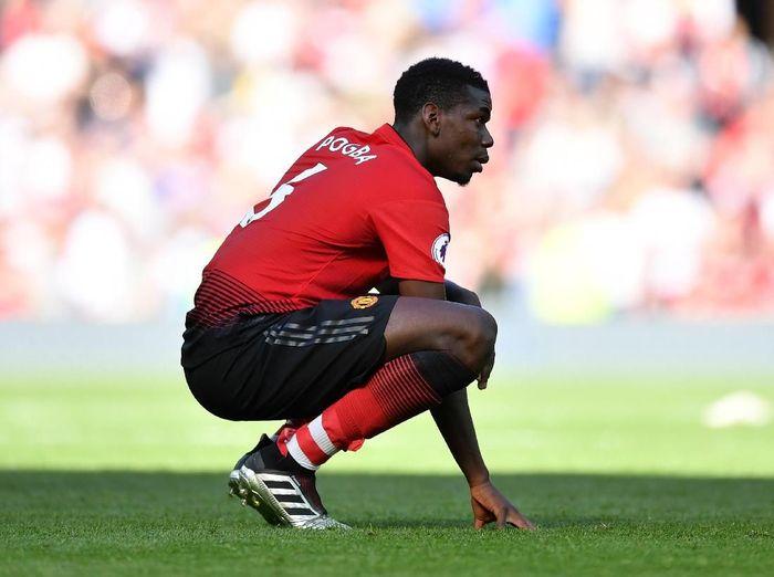 Pemain Manchester United, Paul Pogba. (Foto: Dan Mullan/Getty Images)