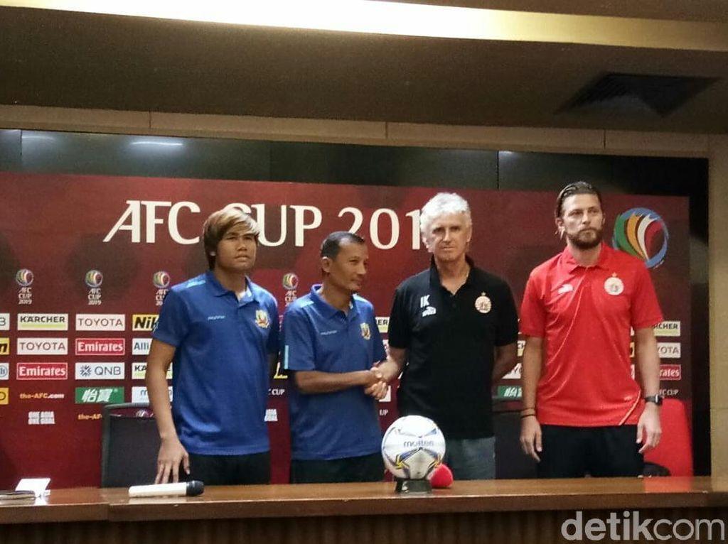 Persija Bertekad Tutup Piala AFC dengan Kemenangan