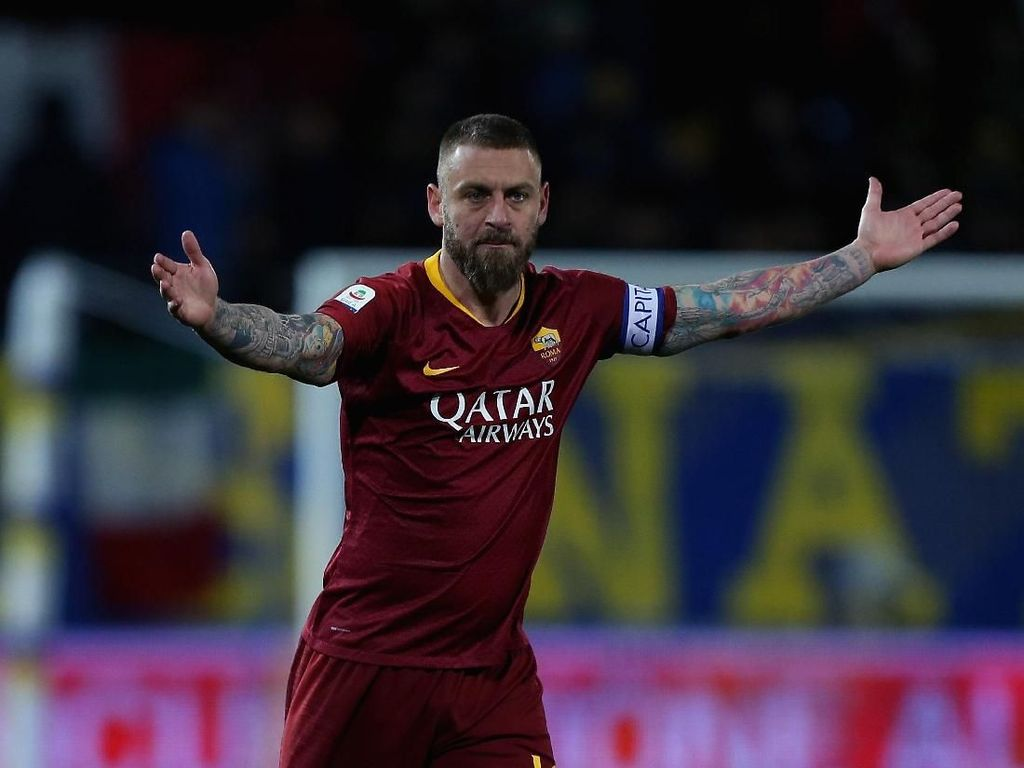 Dilepas Roma, De Rossi Merapat ke MLS?