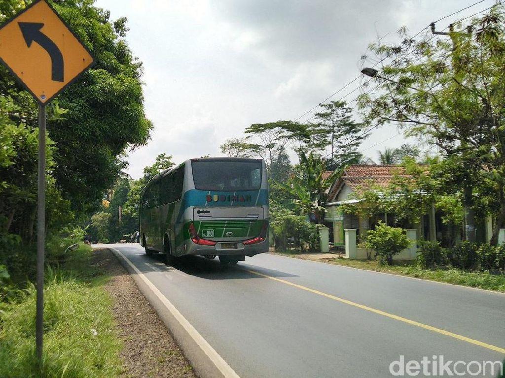 Tikungan Cijeungjing, Titik Rawan Kecelakaan di Jalur Mudik Ciamis