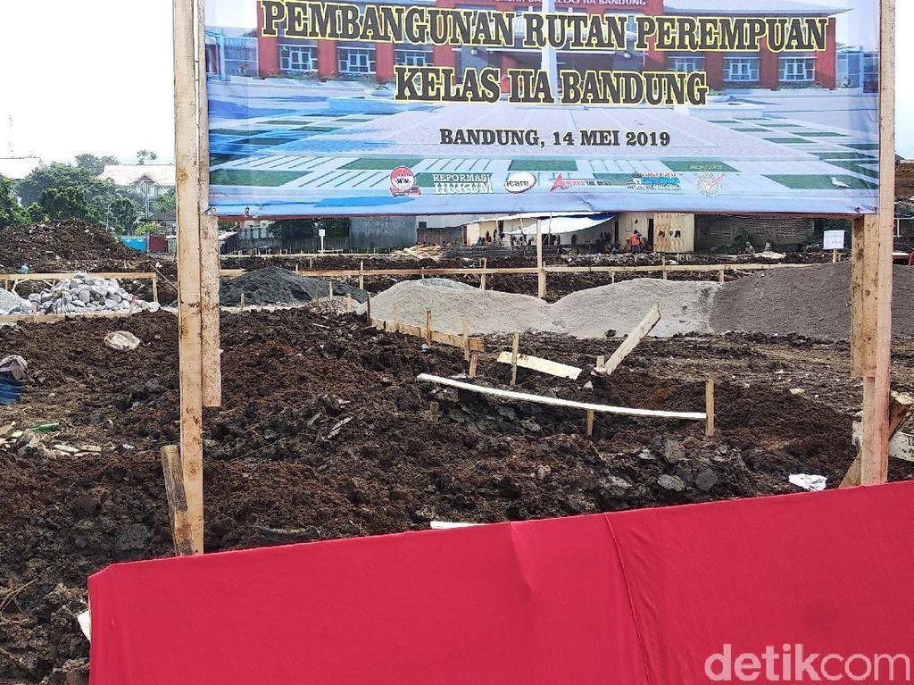 Pembangunan Rutan Perempuan di Bandung Habiskan Rp 25 Miliar