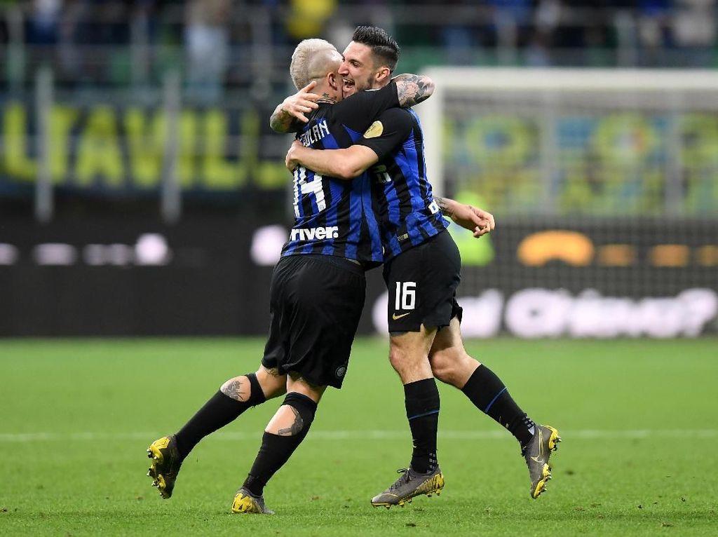 Inter Susah Kalahkan Chievo, Politano: Pertandingan Tak Sesuai Rencana