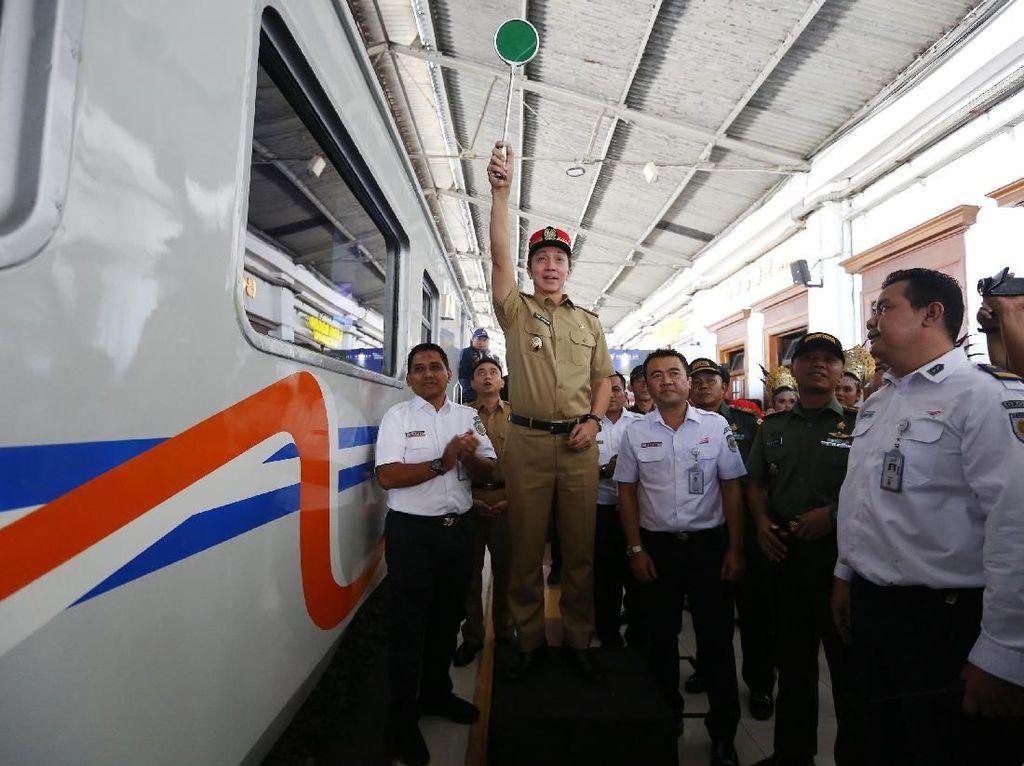 Jelang Lebaran, KAI Tambah Perjalanan KA Bogor-Sukabumi