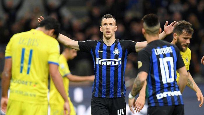 Inter Milan wajib menang di laga terakhir Serie A untuk meraih tiket Liga Champions. (Foto: REUTERS/Daniele Mascolo)
