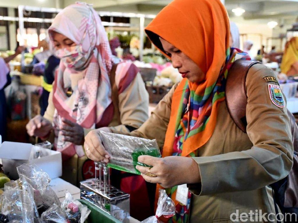 Masih Ditemukan Bahan Kimia Berbahaya Pada Makanan di Pasar Batang
