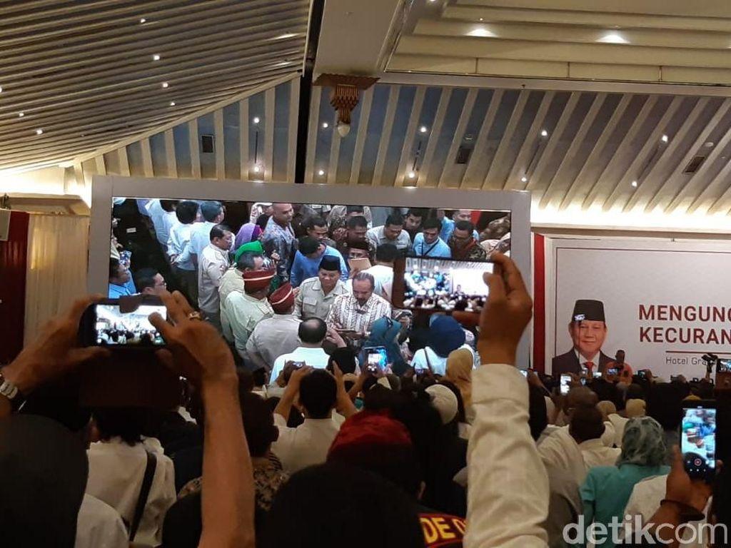 Foto: Prabowo-Sandiaga Gelar Simposium Kecurangan Pemilu