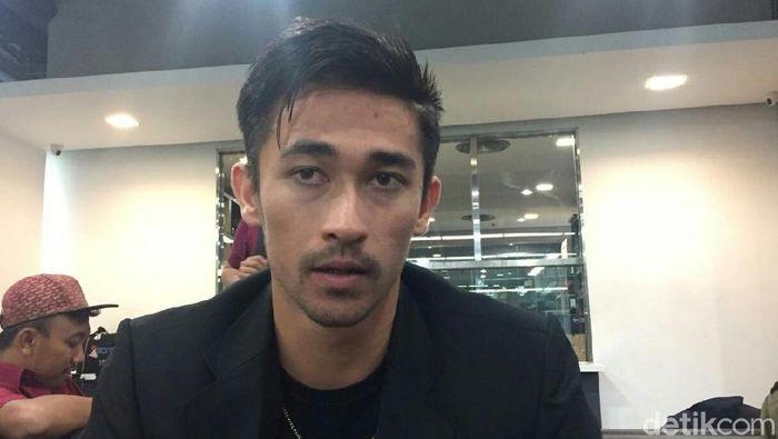 Gavin Kwan Adsit percaya diri menghadapi Persija Jakarta.  (Amalia Dwi Septi/detikSport)