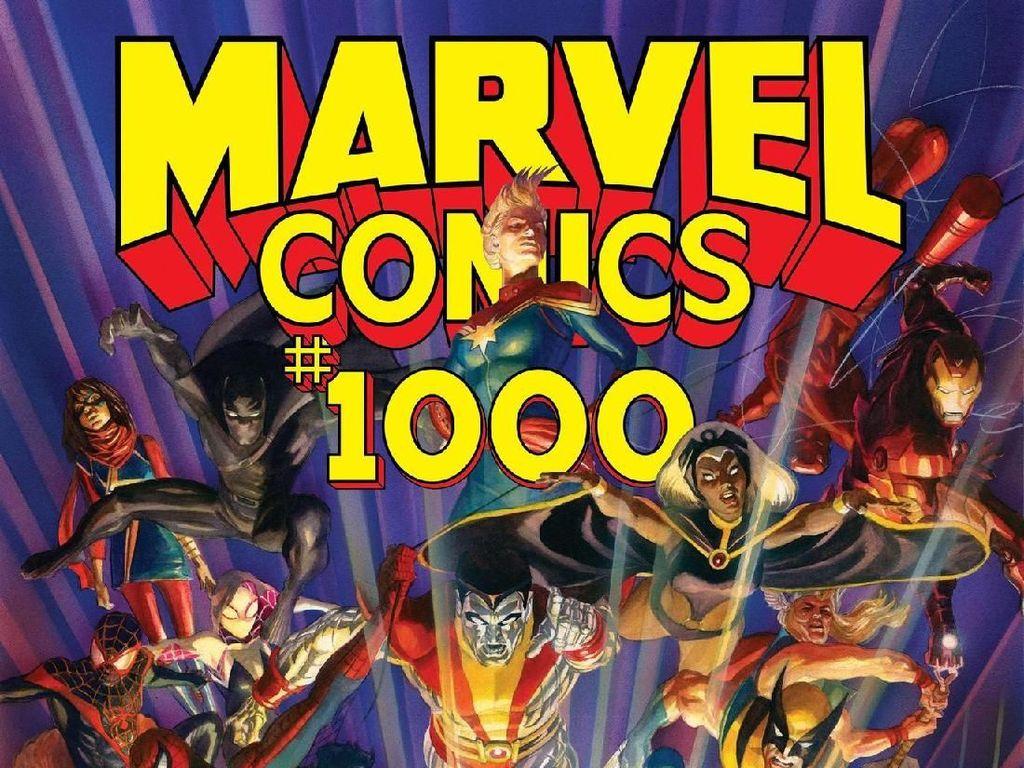 Marvel Comics Diskon Besar-besaran untuk Komik-komiknya
