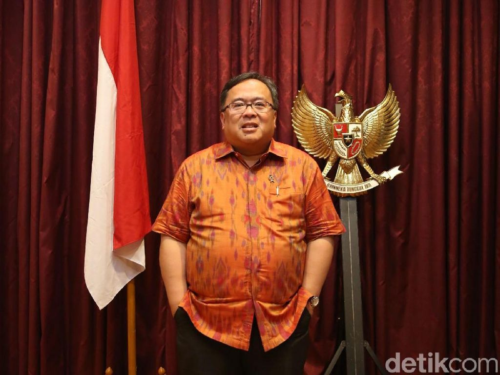 Positif COVID-19, Kondisi Bambang Brodjonegoro Kini Stabil
