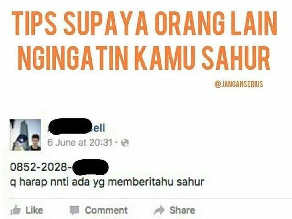 Jomblo Harap Sabar! Meme Puasa untuk Jomblo Ini Menohok Banget
