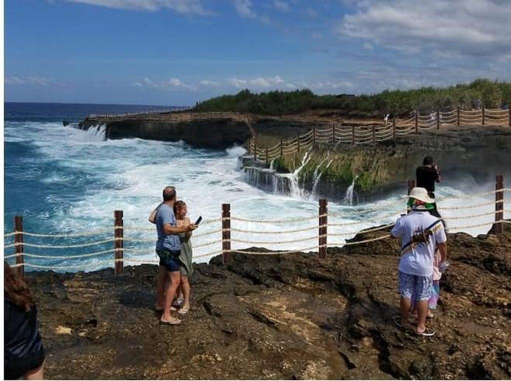Dispar Punya Rencana Pagari Tebing Dream Beach, tapi Kurang Dana