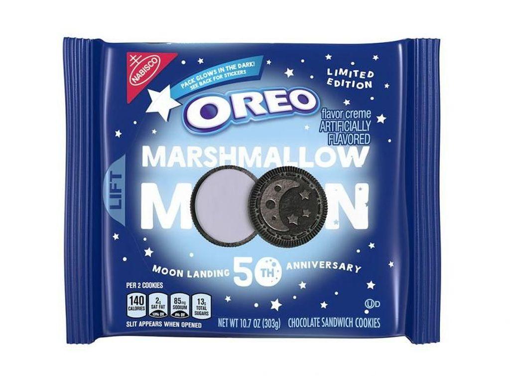 Marshmallow Moon, Dari Oreo buat Rayakan Pendaratan di Bulan