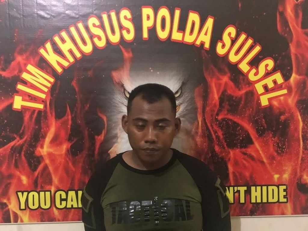 Polisi Tangkap Anggota TNI Gadungan yang Curi Laptop Warga di Sulsel