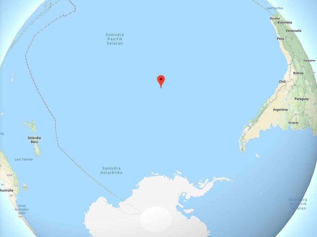 Point Nemo: Tempat Paling Sulit Didatangi di Bumi