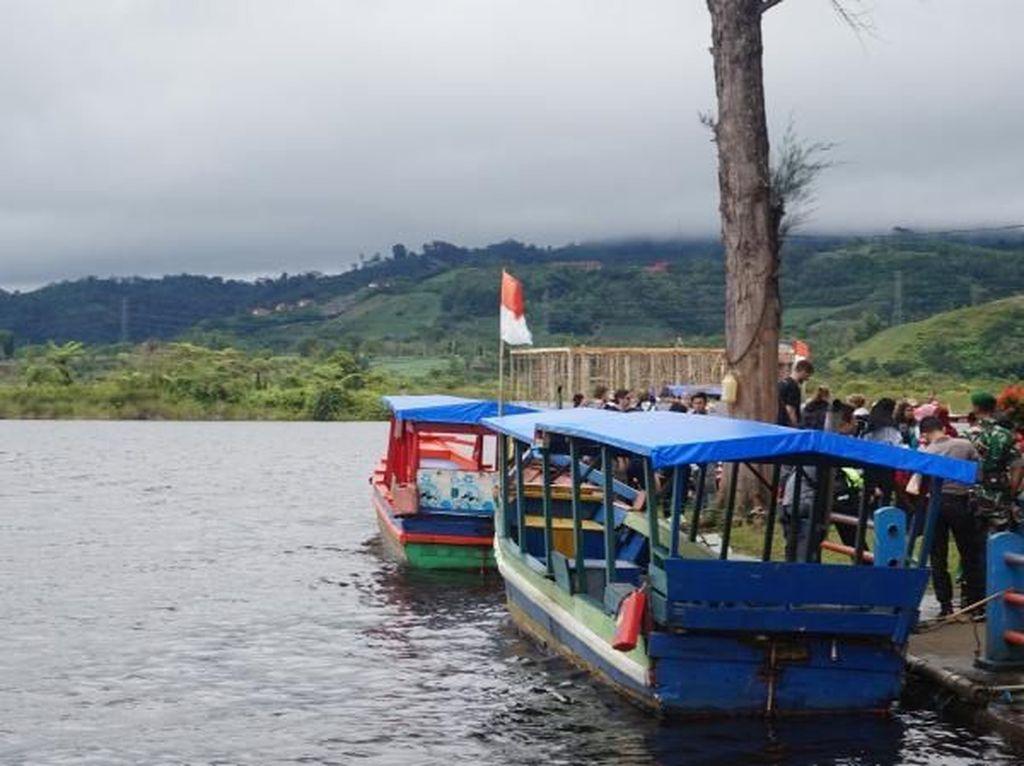 Potret Danau Cantik di Bengkulu