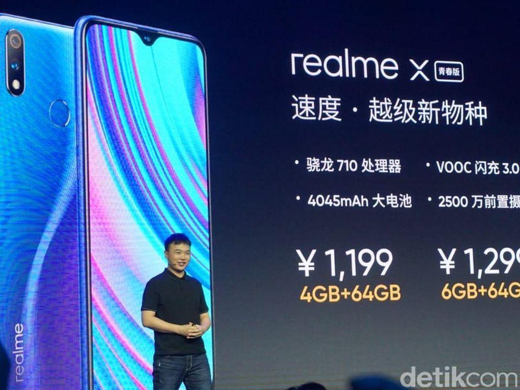 Realme X Lite Juga Meluncur di China, Ini Spek dan Harganya