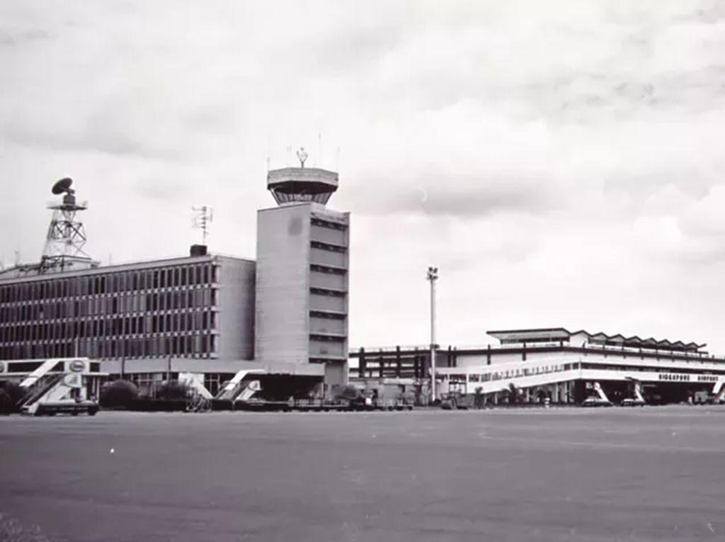 Foto: Bandara Changi Singapura dari Masa ke Masa