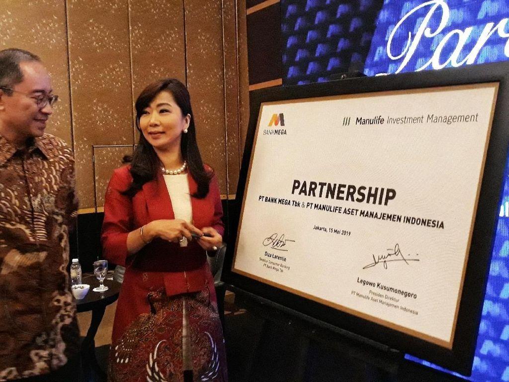 Beri Pilihan Investasi, Bank Mega Jalin Kerja Sama dengan Manulife