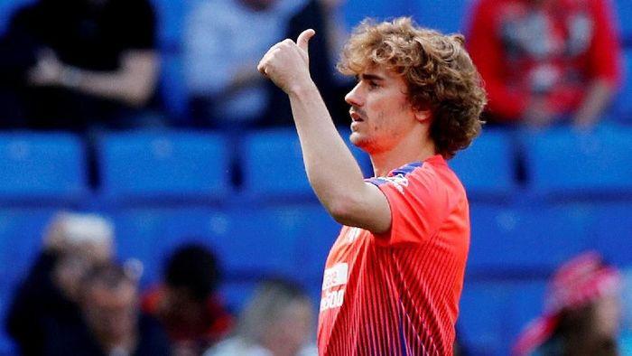 Pembelian mahal Barcelona dari Atletico Madrid, Antoine Griezmann. (Foto: Albert Gea /Reuters)