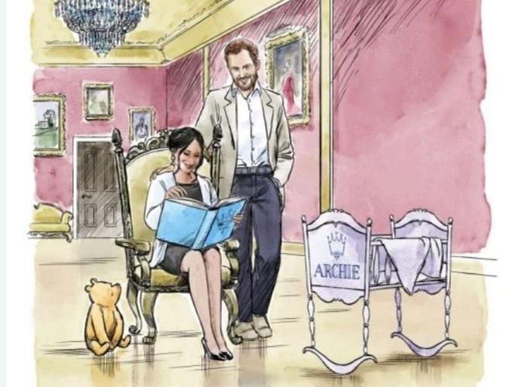 Gemas! Disney Rilis Kartun Pendek Winnie the Pooh Untuk Anak Pangeran Harry
