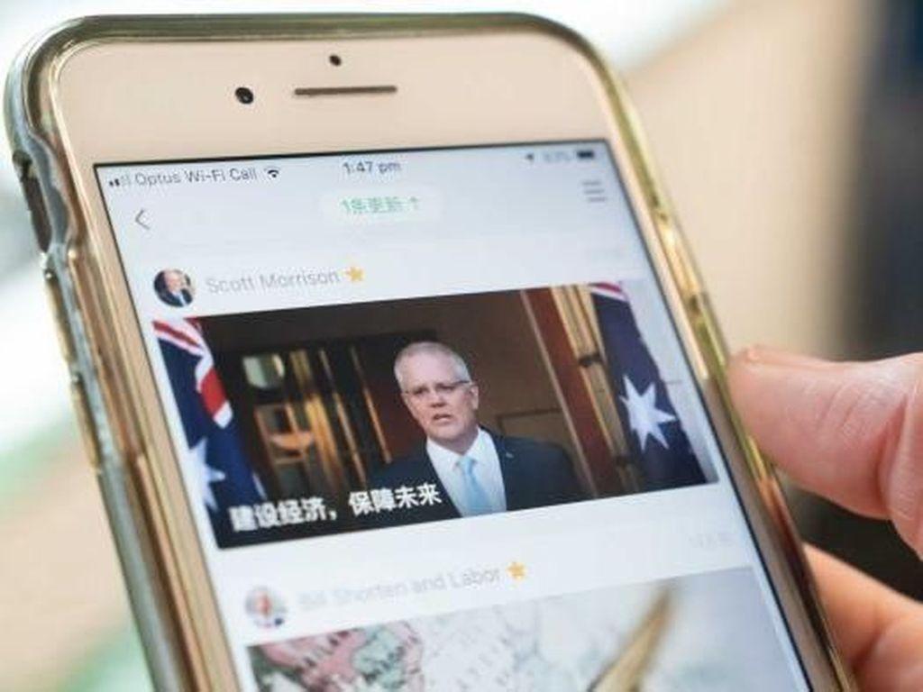 Sebut China Pelanggan, PM Australia Dikecam Warga Australia Keturunan China