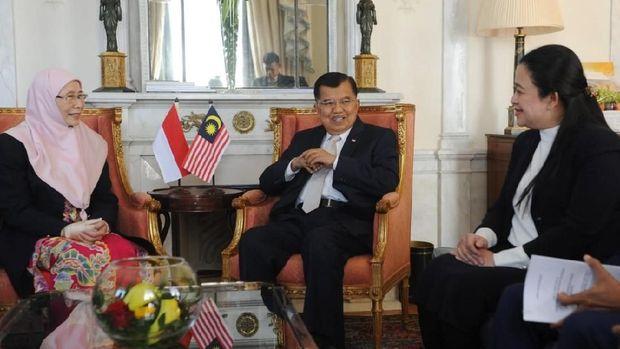 Wapres JK Bertemu Wakil PM Malaysia di Jenewa, Ini yang Dibahas