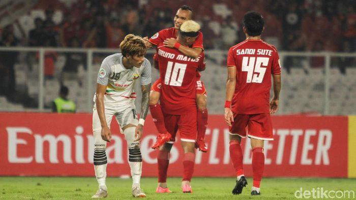Persija Jakarta menang telak 6-1 atas Shan United di Piala AFC 2019. (Foto: Rifkianto Nugroho)