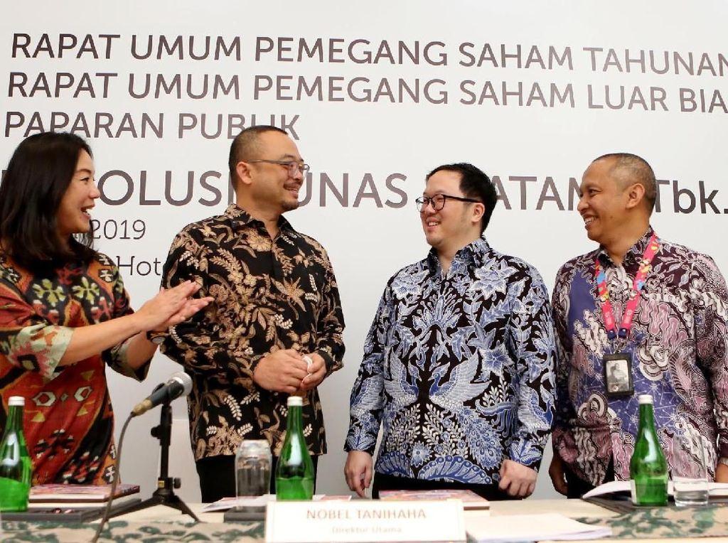 STP Bukukan Pendapatan Rp 1,8 T