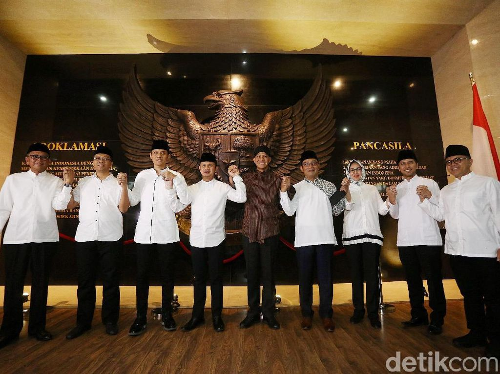 2 Kubu Pilpres Kumpul di Bogor, Bima Arya: Kita Kadang Lupa dari Partai Apa