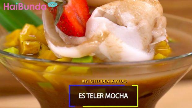 Menu Buka Puasa: Es Teler Mocha, Kopi Cokelatnya Mantap Betul