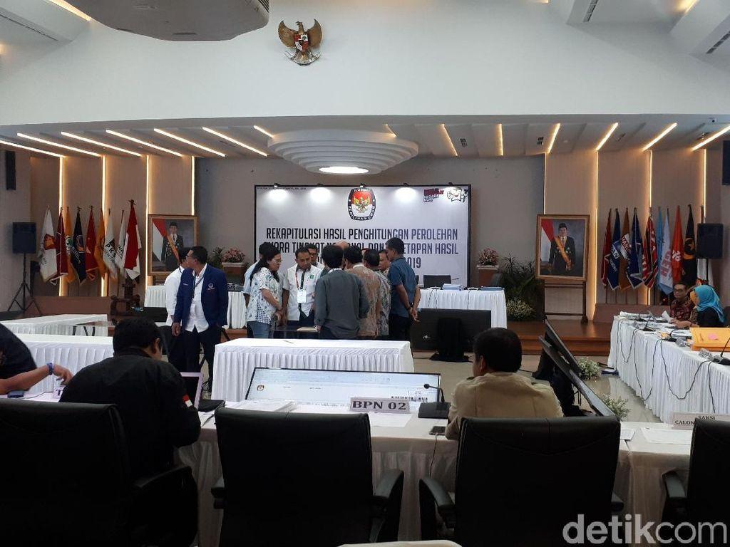 Saksi BPN Tetap Hadir Dalam Rekapitulasi Suara Nasional di KPU