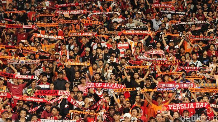 The Jakmania bisa mendapatkan tiket Persija vs Borneo FC di Stadion Wibawa Mukti.  (Rifkianto Nugroho/detikSport)
