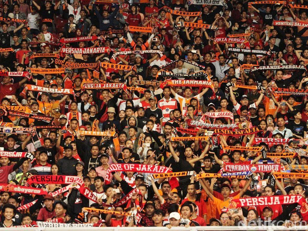 Suporter PSM Persilakan The Jak Datang ke Makassar