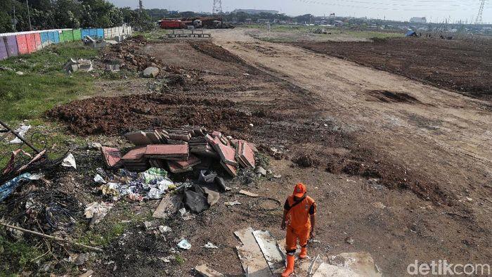Sengketa lahan yang membayangi pembangunan Stadion BMW di Jakarta Utara berlanjut. Stadion yang rencananya jadi markas Persija Jakarta itu terancam batal. (Pradita Utama/detikSport)