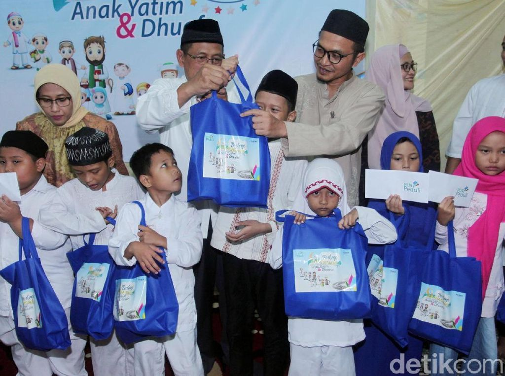 PLN Berbagi Kebahagiaan Bersama Anak Yatim dan Dhuafa