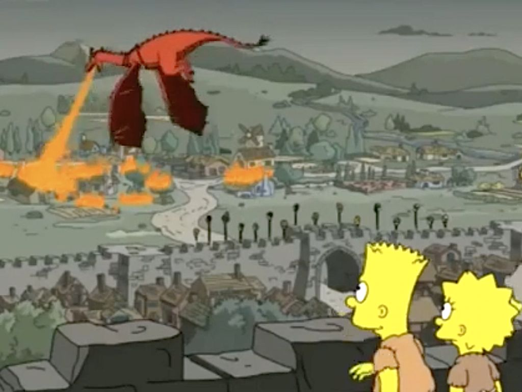 Game of Thrones Masuk, Ini Ramalan The Simpson Paling Heboh