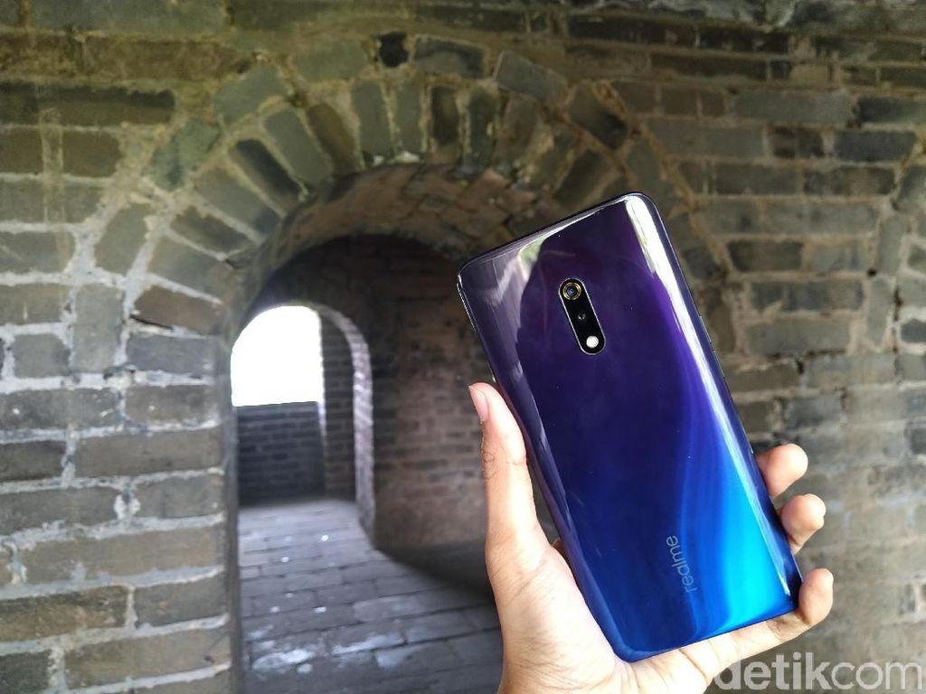 Realme Garap Ponsel Kamera 64MP, Pamerkan Hasil Fotonya