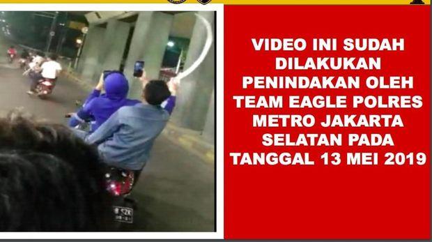 Baru-baru Ini Beredar Video-Foto Geng Motor Jakarta, Ini Faktanya