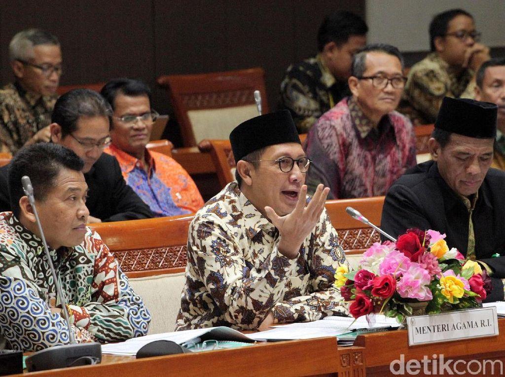 Menag dan Komisi VIII Rapat Bahas Jaminan Produk Halal