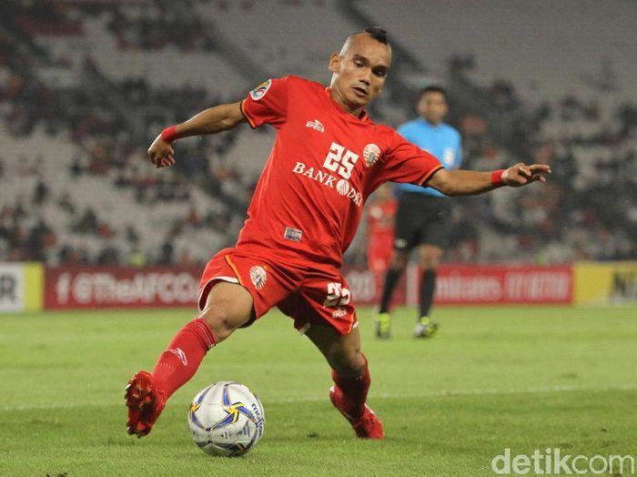 Riko Simanjuntak di Persija Jakarta. (Foto: Rifkianto Nugroho/detikSport)