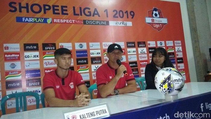 Pelatih Kalteng Putra, Gomes De Oliveira. (Foto: Eko Susanto/detikcom)