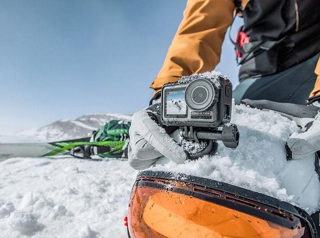 DJI Osmo Action, Penantang GoPro yang Unik dan Tangguh
