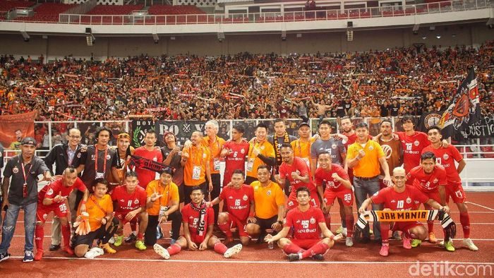 Persija Jakarta lebih dulu menjalani laga tandang ke Bali United pada akhir bulan Mei. (Foto: Rifkianto Nugroho/detikcom)