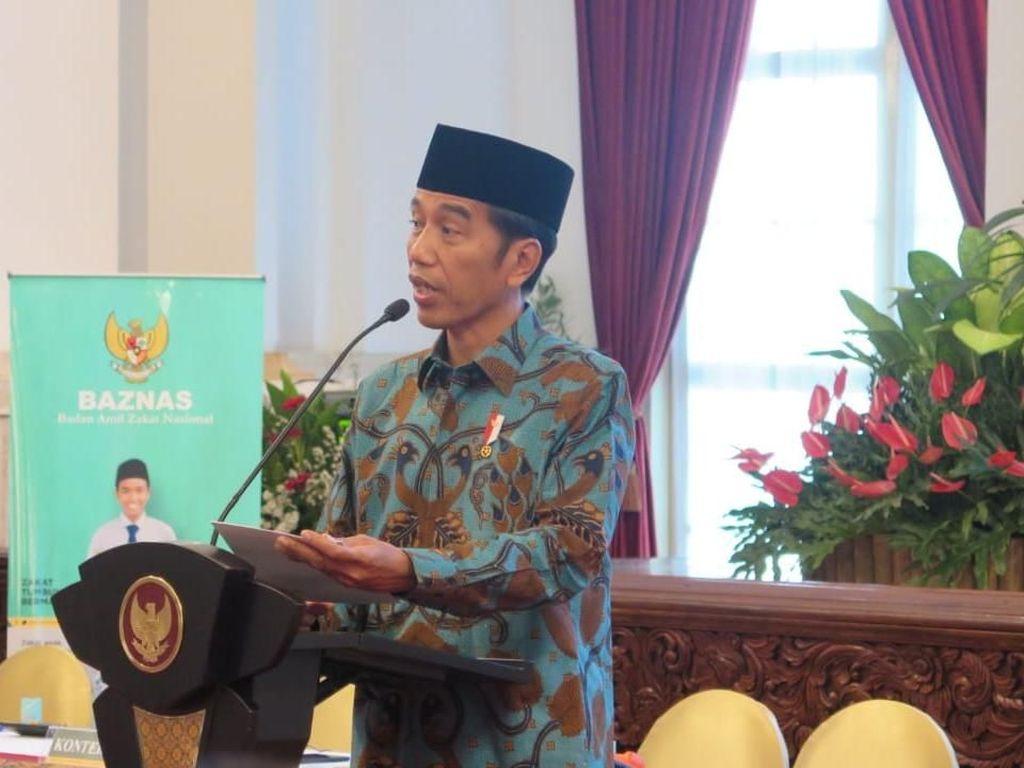 Jokowi Berharap Bayar Zakat Bisa Terintegrasi Digital