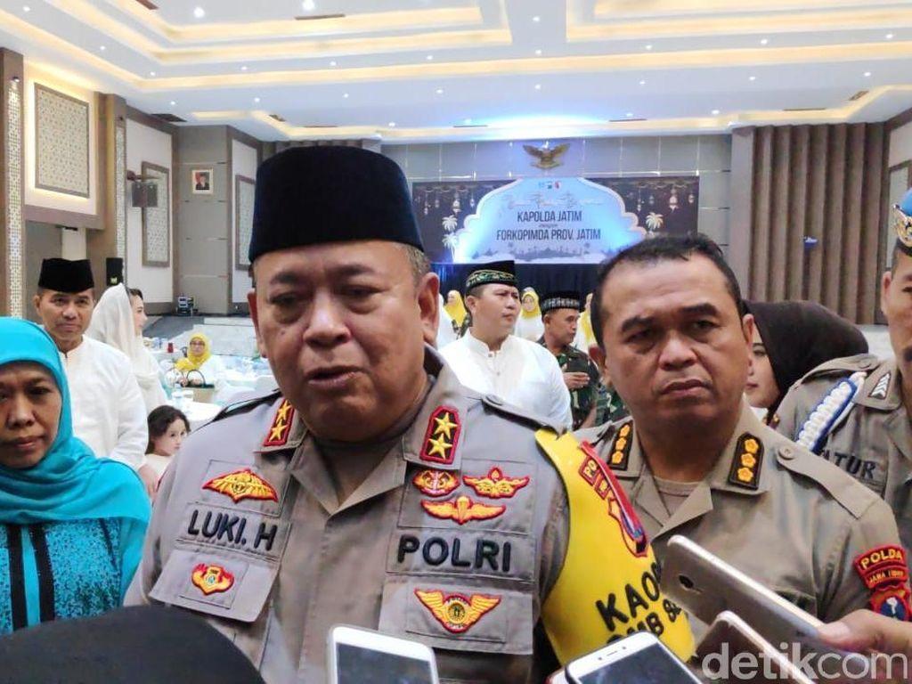 Kapolda Jatim akan Cegah Warga Jawa Timur ke Jakarta 22 Mei