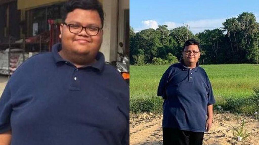 Transformasi Wawan, Diet Nge-dance Lagu K-Pop Bisa Pangkas 40 Kg