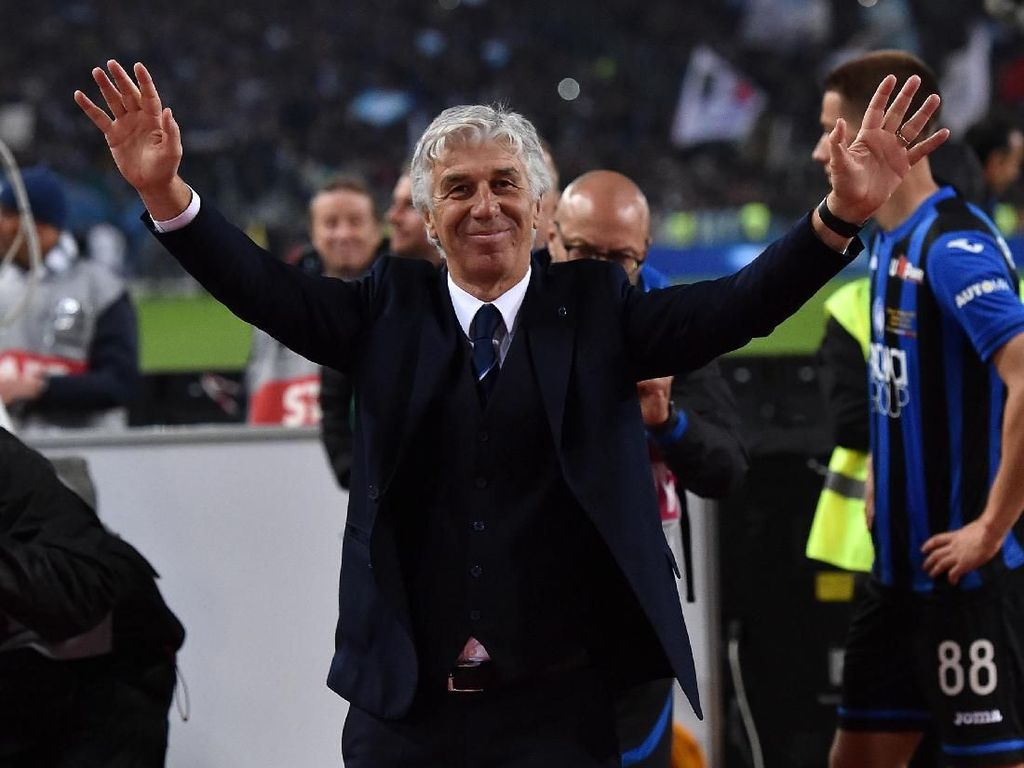 Gasperini Setuju Latih AS Roma