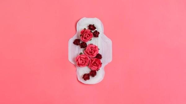 Ilustrasi darah menstruasi saat menggumpal. Foto: Istock